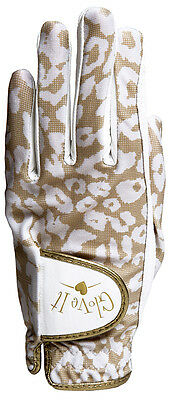 New Ladies Glove It Uptown Cheetah Golf Glove. Size Medium.