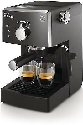 Cafetera Express Saeco Hd8423/11 Poemia Negro