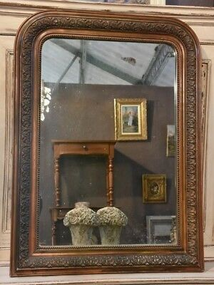 19th century Louis Philippe mirror - antique French mirror
