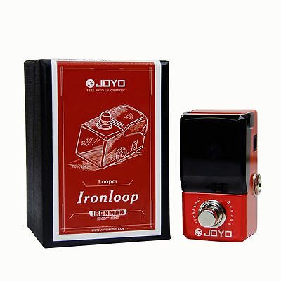 JOYO JF-329 IronLoop Looper LED 20 min Rec & Dub Guitar Effect Pedal