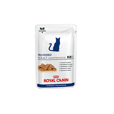 Bouchées en sauce pour chats Royal Canin Veterinary Care Nutrition Adulte Mainte