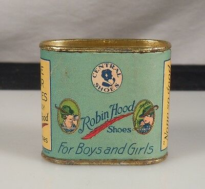 Vintage Advertising Coin Bank ROBIN HOOD Shoes      47363