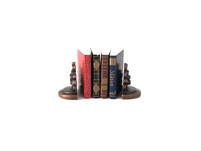 Miniature Books & Book Ends  - 1/12 Scale Dolls House - New & Packaged - D2348