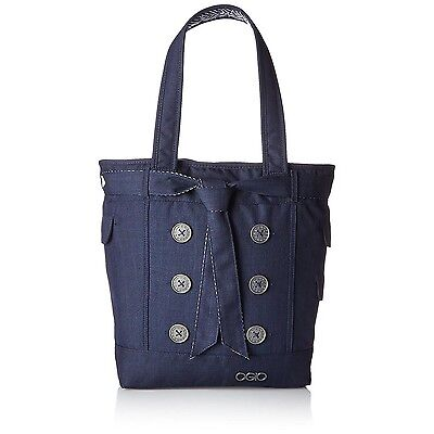 OGIO Hampton's Women's Padded Tote Bag for 15 Inch Laptop and Tablet, Peacoat