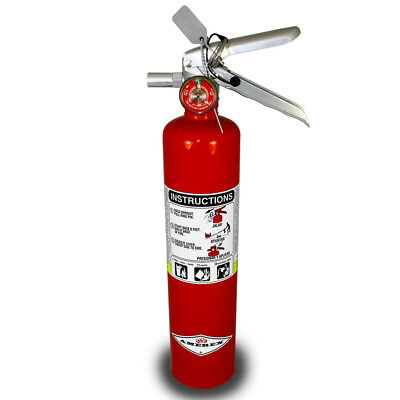 DragonFire 2.5 LBS. ABC Fire Extinguisher with Red Finish