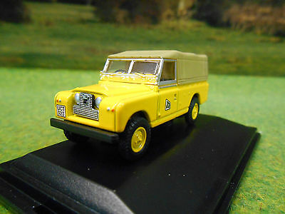 Oxford Jcb Series 2 Lwb Landrover Pick Up Canvas Tilt 1/76 76Lan2016