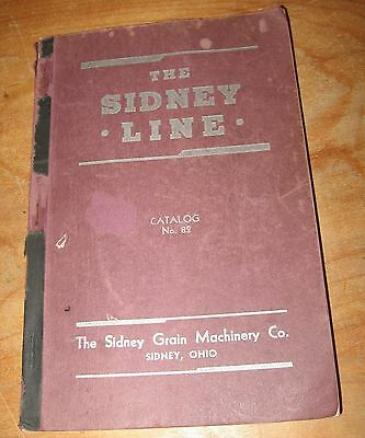 1941 THE SIDNEY LINE Catalog Sidney Grain Machinery Co Sidney Ohio 213 Pages