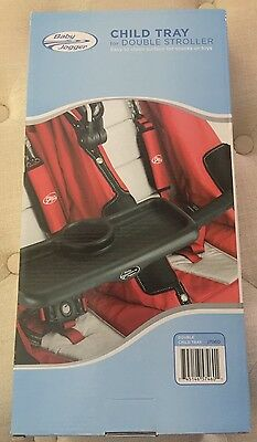 Baby Jogger Child Tray For Double Stroller  J7G60 2009 City Series - New In Box