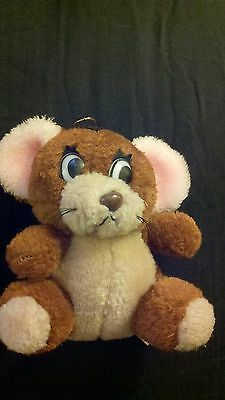 Jerry plush stuffed animal doll toy 1985 cartoon Tom and Jerry