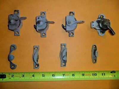 Lot of 4 Vintage Window Locks