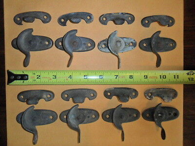 Set of 8 Vintage Window Locks