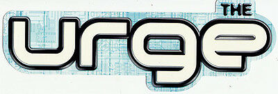 The Urge Too Much Stereo RARE promo sticker '00