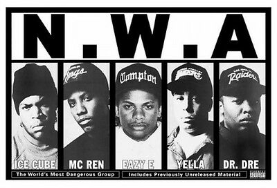 NWA POSTER (61x91cm)  PICTURE PRINT NEW ART