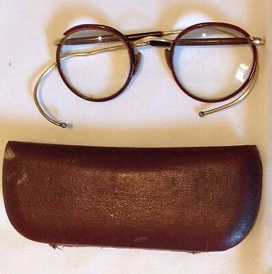 Antique Algha Glasses-12K Rolled Gold Frame
