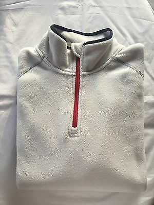 New without tags- Sperry Top Sider Men's Fleece Quarter Zip Size X-Large