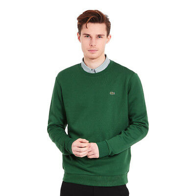 Lacoste - Embroidered Crocodile Sweater Green Pullover Rundhals