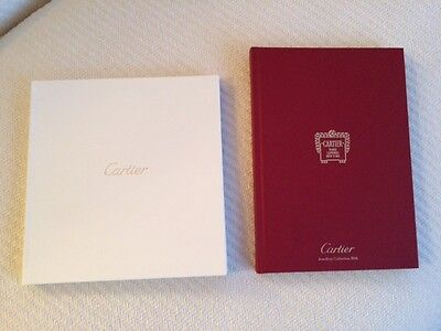 CARTIER 2016 Jewelry Collection 2 Catalogs Hardcover Red & White Color Pages NEW