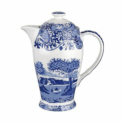 Spode Blue Italian 200th Anniversary Signature Piece - 1.5 Pint Hot Beverage Pot