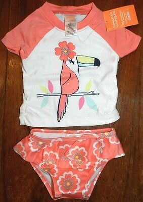 Swimsuit SunScreen UPF Gymboree Girl size 6-12 months New
