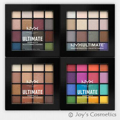 """2 NYX Ultimate Shadow Palette - Eyeshadow """"Pick Your 2 Color"""" *Joy's cosmetics*"""