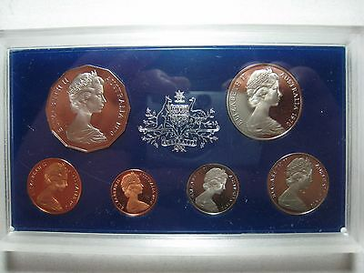 1970 Australia 6 Piece Proof Coinage Set in styro box. ** FREE U.S. SHIPPING**