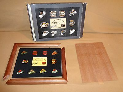Hires Root Beer Crush Hat Lapel Pinback Collection Commemorative Set 11 Pins