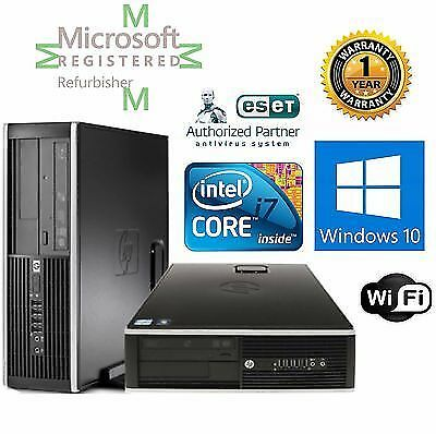 HP Compaq 8200 Elite (1TB, Intel Core i7 2nd Gen., 3.4GHz, 4GB) PC Desktop -...
