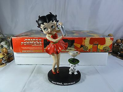 """Betty Boop """" Martini Betty """" Very Tall Figurine - Must For Any Collection"""