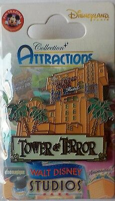 DLP- Attraction Series - Tower of Terror Pin