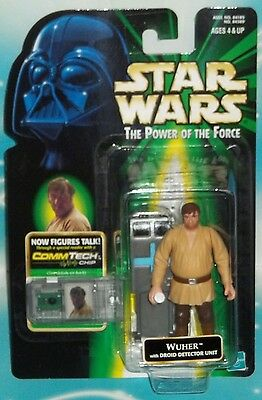 Star Wars Potf Series Commtech Wuher Mos Eisley Cantina Bartender Figure