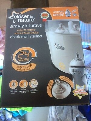 Electric Steam STERILISER Closer To Nature - Used Complete