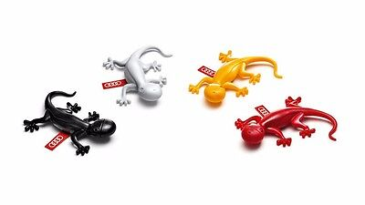 Audi Genuine Gecko Cockpit Air Freshener Set 8 pieces of different colors