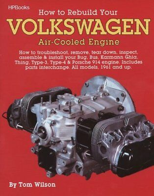 Rebuild Aircooled VW Engines HP255 by Tom Wilson 9780895862259 (Paperback, 1987)