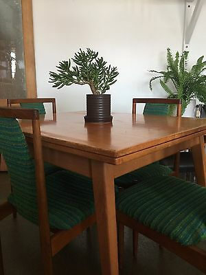 Retro vintage extension dining table (table only)
