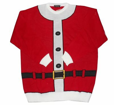 "Brooklyn Festive Cristmas Jumper ""Santa Suit"" in Size 2XL to 5XL"