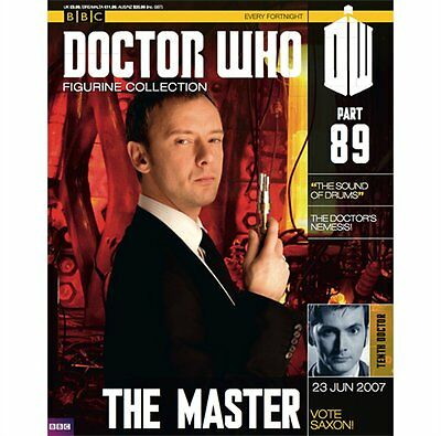Doctor Who Figurine Collection eaglemoss The Master Part 89 #DW17 - Free p&p