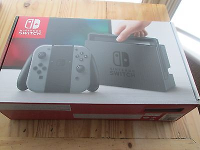 Nintendo switch box ONLY and manual