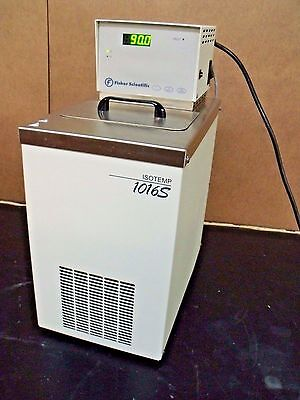 Fisher Isotemp 1016S Heating Refrigerating Recirculating Water Bath Micro Lab
