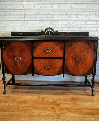 Stunning Antique Edwardian Padfoot Sideboard Margate REDUCED HALF PRICE TO CLEAR