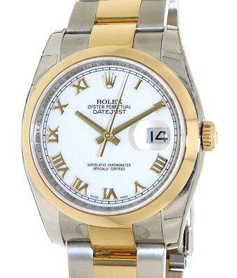 Rolex DATELUST 36MM 116203 STEEL, YELLOW GOLD, 36MM 116203