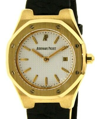 Audemars Piguet ROYAL OAK LADY BA66800.O YELLOW GOLD, LEATHER, 28MM BA66800.O