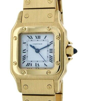 Cartier SANTOS LADY 26MM IN 18KT YELLOW GOLD -