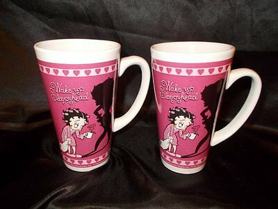 Betty Boop Cup Mugs-Set of 2 Universal Studios Islands of Adventures