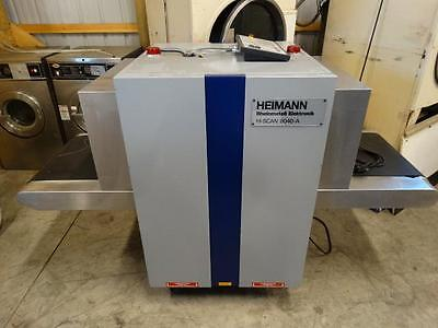 Heimann Hi Scan 6040-A X Ray Baggage Parcel Inspection Scanner Xray 6040A
