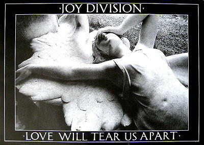 "Joy Division Poster ""love Will Tear Us Apart"""