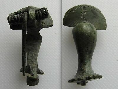 Roman Bronze Fibula Knee Brooch