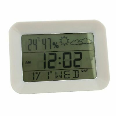 Lcd Multi Function Digital Weather Station Alarm Clock Calendar Humidity Temp
