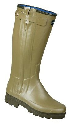 Le Chameau Chasseur Neoprene Lined Men's  Boots  (Green)-[Size: 8]42