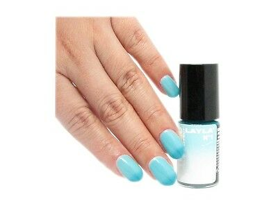 LAYLA Nagellack Thermo Effekt 01 Dark To Light Bluelack 1 x 5 ml