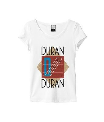 Official Duran Duran - Ragged Tiger - Women's Amplified White T-Shirt